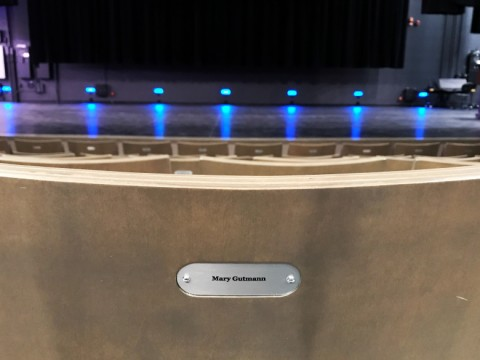 Triffo Theatre Seat Tags