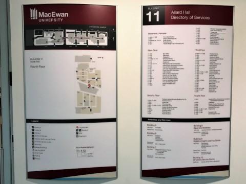 Allard Hall directories