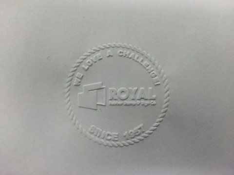 Corporate Seal - Royal Rubber Stamp & Sign. Co. - Edmonton, Alberta, Canada
