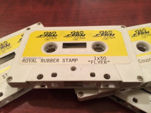 Royal Stamp radio ads produced by CFRN 1260 in Edmonton. Circa late 1980's.